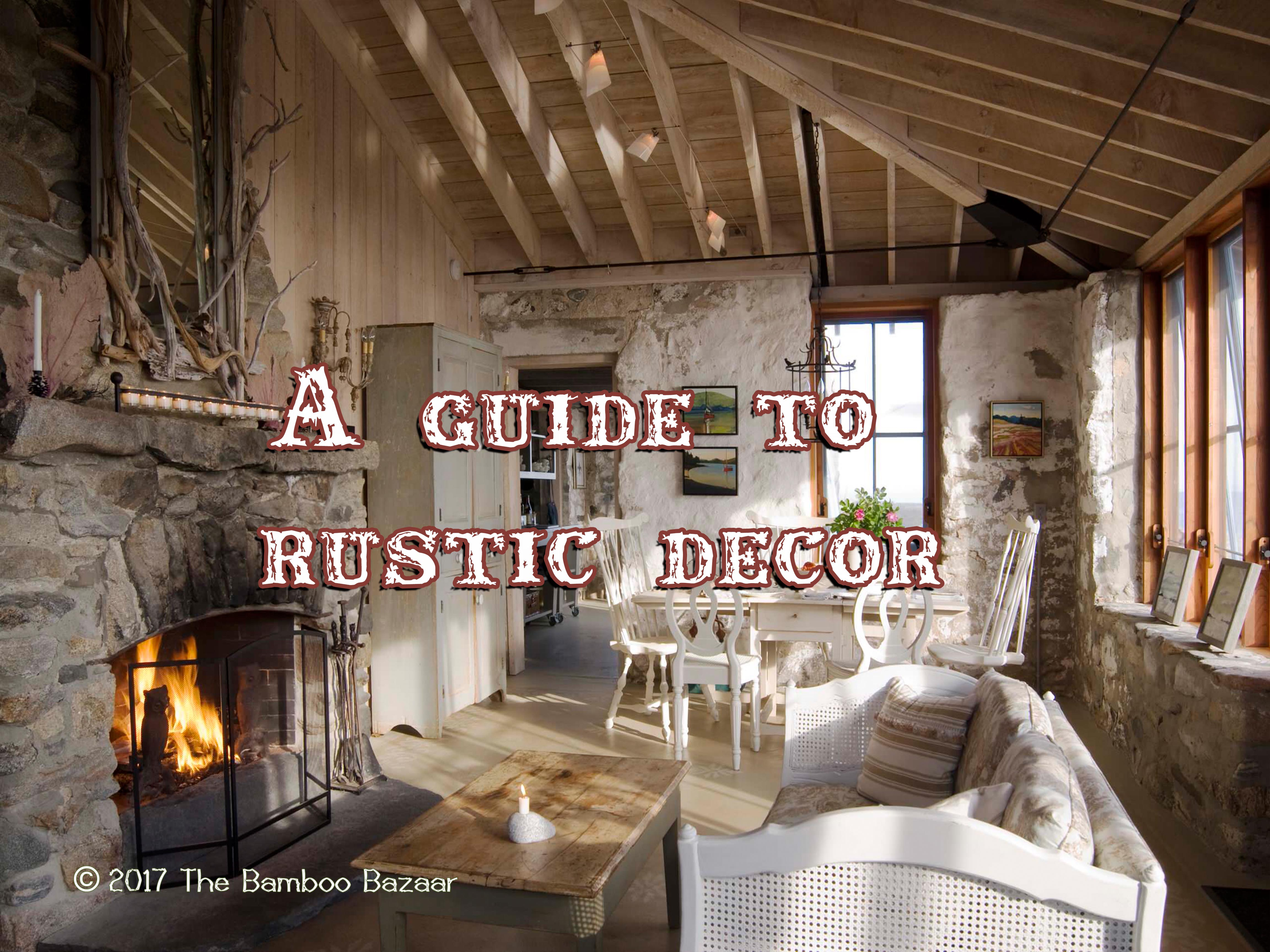 guide to rustic décor
